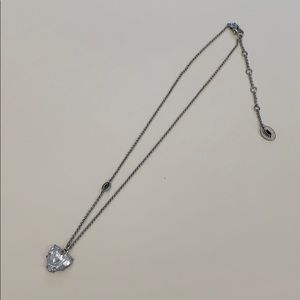 Juicy Couture Silver Heart Pendent Necklace